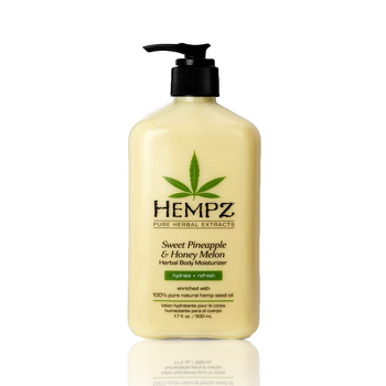 17OZ HEMPZ SWEET PINEAPPLE & HONEY MELON HERBAL MOISTURIZER