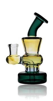 "5.5"" ILLUMINATI GLASS MULTI FUMED MINI BANGER HANGER"