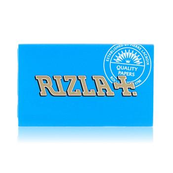 RIZLA BLUE SINGLE WIDE DOUBLE FEED