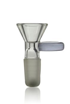 NICE GLASS PURPLE 14MM CONE BOWL