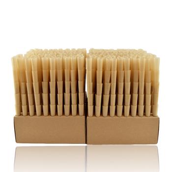 RAW NATURAL UNREFINED HEMP PRE ROLLED 1 1/4 CONES BOX/1000