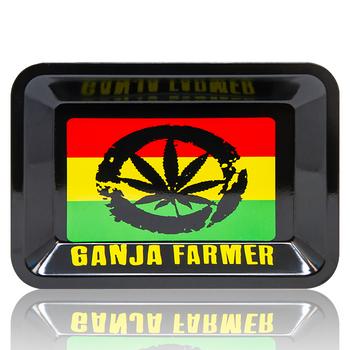 "GANJA FARMER ROLLING TRAY 14"" X 12"""