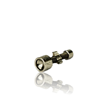 HIGHLY EDUCATED 18MM V3 ADJUSTABLE CONCAVED TITANIUM NAIL