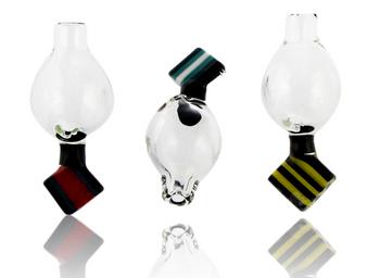INTENT GLASS CHIP HANDLE BUBBLE CAP