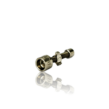 HIGHLY EDUCATED 18MM V3 ADJUSTABLE TURBINE TITANIUM NAIL