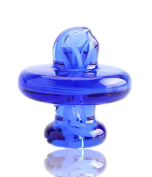 33MM SOLID BLUE THERMAL CAP