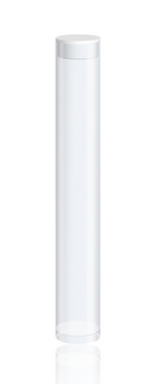 STORAGE TUBES FOR 1ML CARTRIDGES W/ WHITE CAP