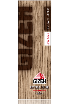 GIZEH BROWN EXTRA FINE 1 1/4