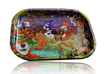 DUNKEES 5.5 X 7.5 ROLLING TRAY - KING OF TIGERS