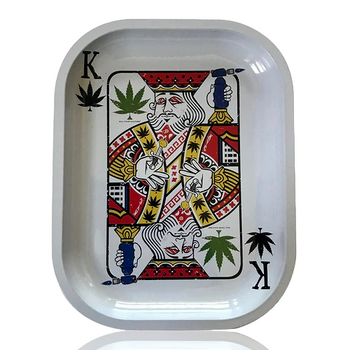 K.Y.C 5.5 X 7  ROLLING TRAY - KING OF CONCENTRATES