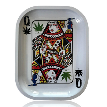 K.Y.C 5.5 X 7 ROLLING TRAY - QUEEN OF CONCENTRATES
