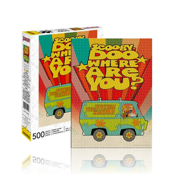 500 PIECE PUZZLE - SCOOBY DOO - WHERE ARE?