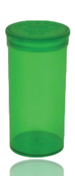 CLEAR GREEN COLOR 70MM X 35MM POP TOP CONTAINER