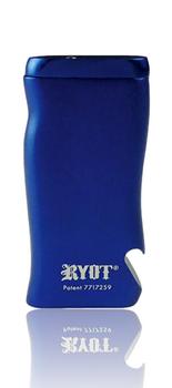 RYOT ALUMINUM MAGNETIC DUGOUT W BOTTLE OPENER - BLUE