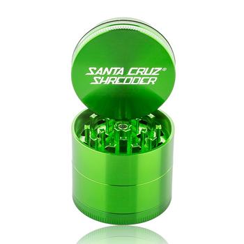 """2.2"""" SANTA CRUZ SHREDDER MED 4 PIECE POLLINATOR - GREEN"""