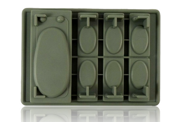 DOPE MOLDS 15 X HAN SOLO SILICONE MOLD