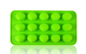DOPE MOLDS 15 X SHELL SILICONE MOLD