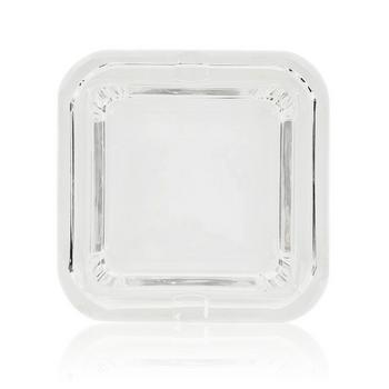 GLASS CRYSTAL DEEP CUBE ASHTRAY