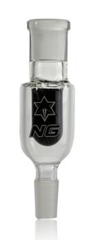 BLACK NICE GLASS 14MM DRY ASHCATCHER