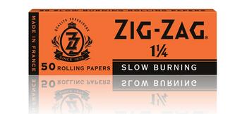 ZIG ZAG ORANGE ROLLING PAPERS - 1 1/4