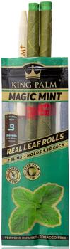 KING PALM MINI PRE ROLLS - MAGIC MINT 2 PACK