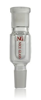 CLEAR NICE GLASS 19MM DRY ASHCATCHER
