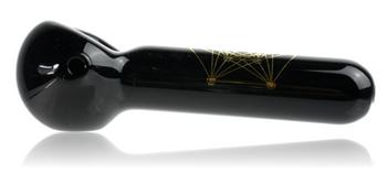 "JELLY FISH BLACK SACRED GEOMETRY METATRON CUBE 5"""