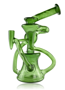 MIMZY GLASS GREEN STARDUST FULL COLOUR SIDE SCROLLER