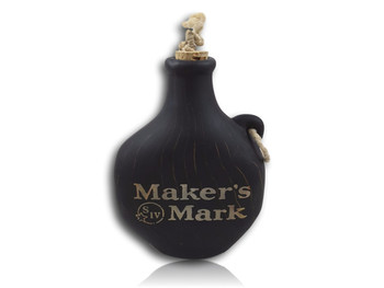 Epok Da Barefoot - Maker's Mark / Pac Man Flask! Water pipe with an actual flask as well! Function / Art / Video Games!