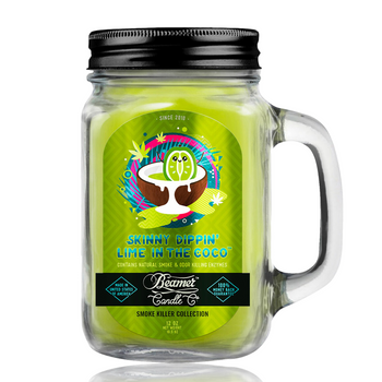 12OZ BEAMER CANDLE - SKINNY DIPPIN' LIME IN COCO