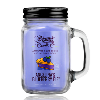 12OZ BEAMER CANDLE - ANGELINA'S BLUEBERRY PIE