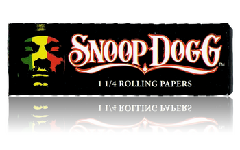 SNOOP DOGG ULTRA THIN 1 1/4 ROLLING PAPERS