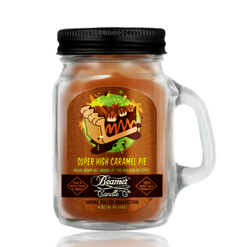 4OZ BEAMER CANDLE - SUPER HIGH CARAMEL PIE