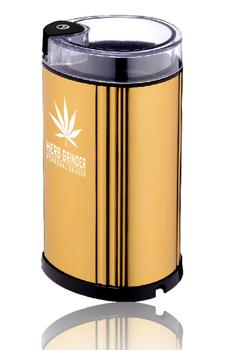 'HERB GRINDER' LARGE GOLD ELECTRIC GRINDER V2