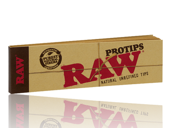 RAW NATURAL UNREFINED PRO TIPS PACK/21