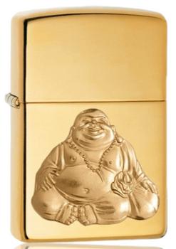 ZIPPO LAUGHING BUDDHA EMBLEM