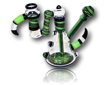 Nish Glass - Green Horn Rig w/Reclaim Chamber.