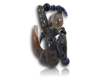 Bearclaw Glass - 'Geiger Girl' Dry Pipe.