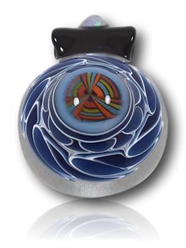 Keshav Glass - Dot Stack Twist w/Opal Pendant.