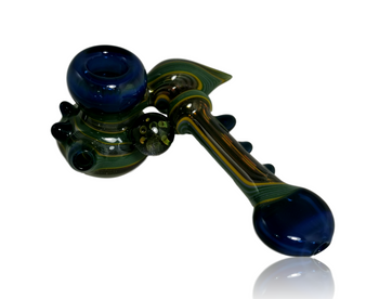 SNAFU GLASS FULLY WORKED SIDECAR SPOON
