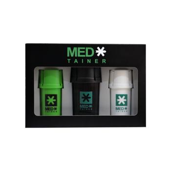 Medtainer XL Kit. 2 x Regular, 1 x XL Size.