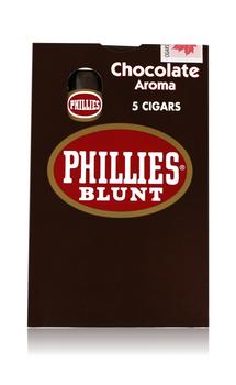 PHILLIES BLUNT CHOCOLATE 5 PK