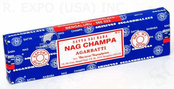 Nag Champa Incense from Satya! Large 100g size.