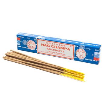 Satya Nag Champa Incense. 15 Gram Package.