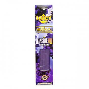 Juicy Jay Thai Incense. Grapes Gone Wild Scent - 20 Sticks.