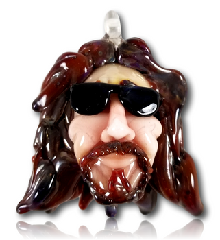 Tammy Baller Glass - 'The Dude' Pendant.