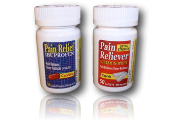 Pain Reliever Dugout. Dugout disguised as pain pills.