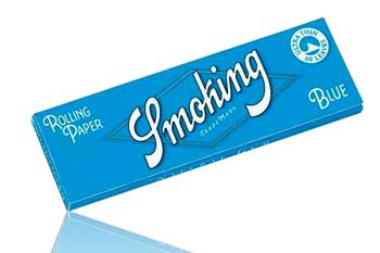 SMOKING BLUE ULTRA THIN SINGLE WIDE