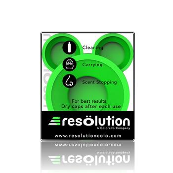RESOLUTION GREEN BONG CAPS