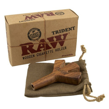 Raw Trident Holder. King Size for both KS and 1 1/4 Size cones! TRES CONES!